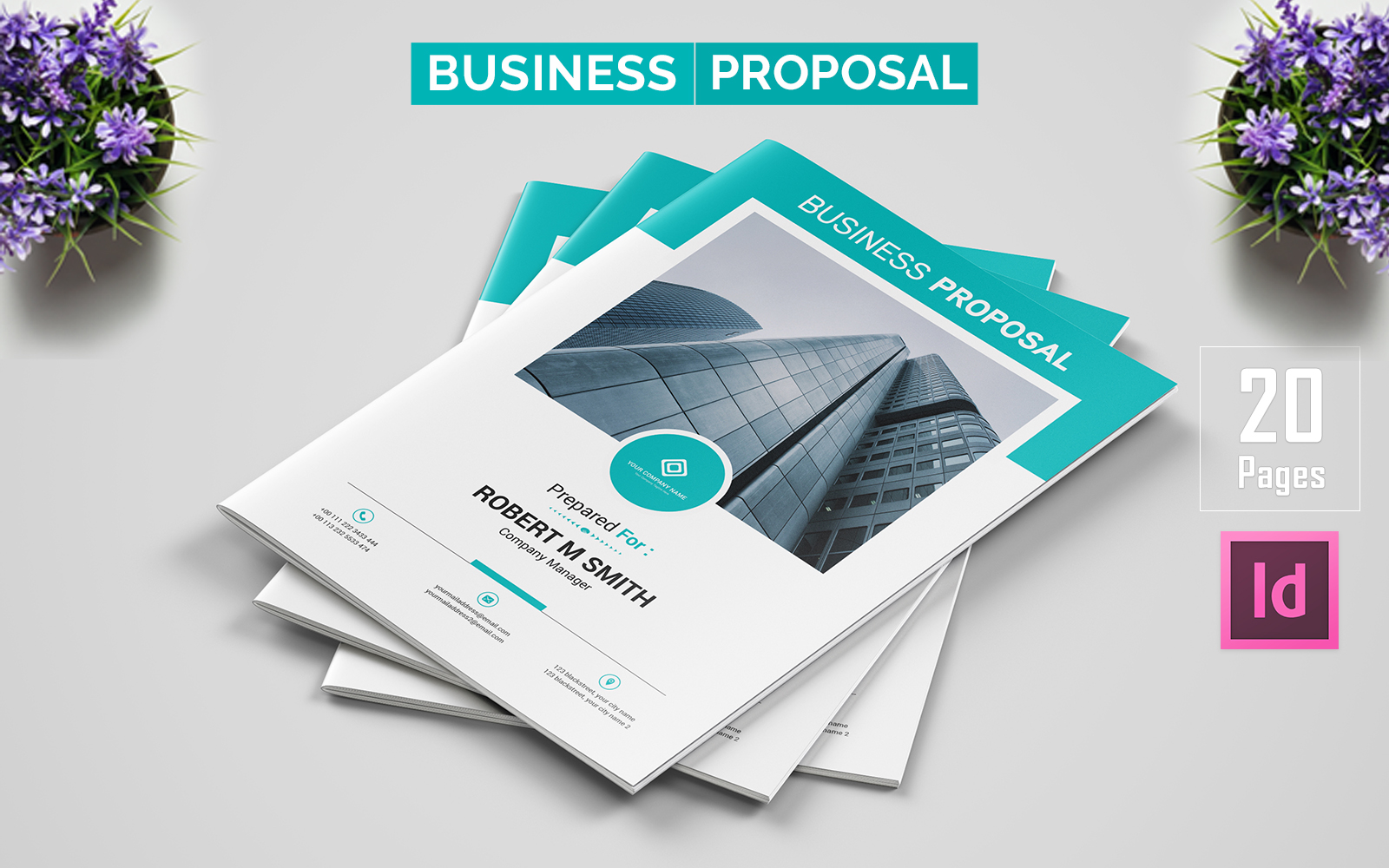 Company - Business Proposal Corporate Identity Template