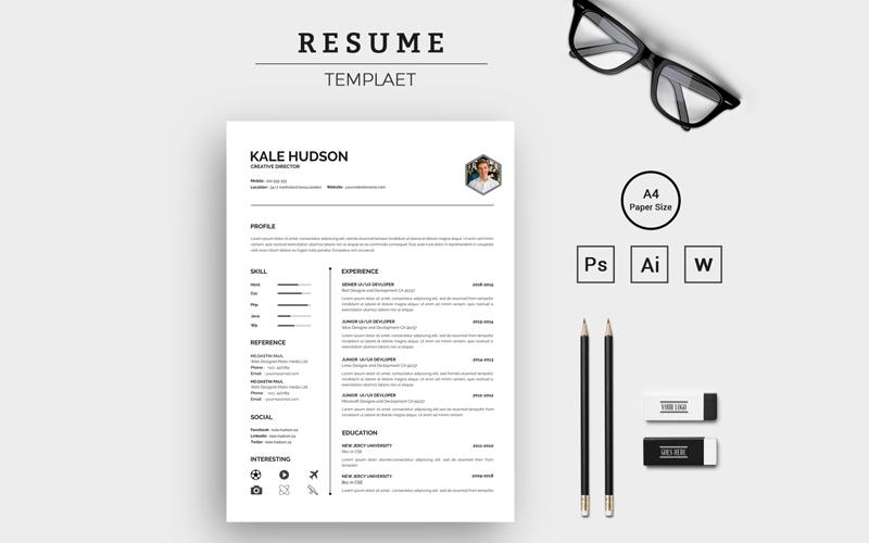 Creative Minimalist Resume Template
