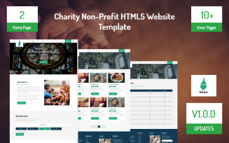Charity Non-Profit HTML5 Website Template