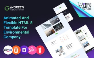 InGreen - Green Energy Website Template