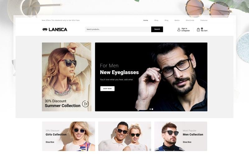 "WooCommerce Theme namens ""Lansca - Multipurpose"" #103910"