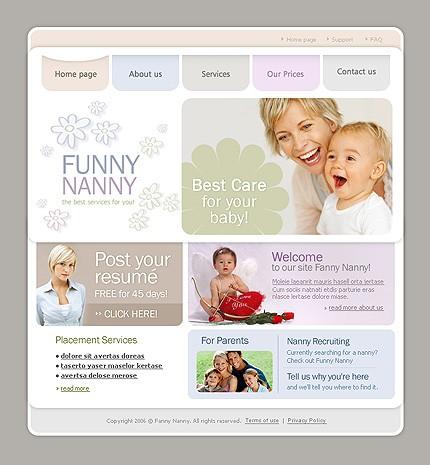 Website Template #10495