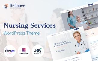 Reliance - Nursing Services WordPress Theme