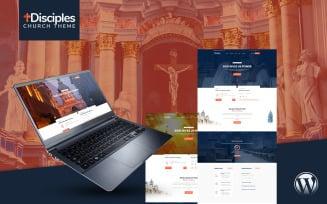 Disciples | Church and Religious WordPress Theme