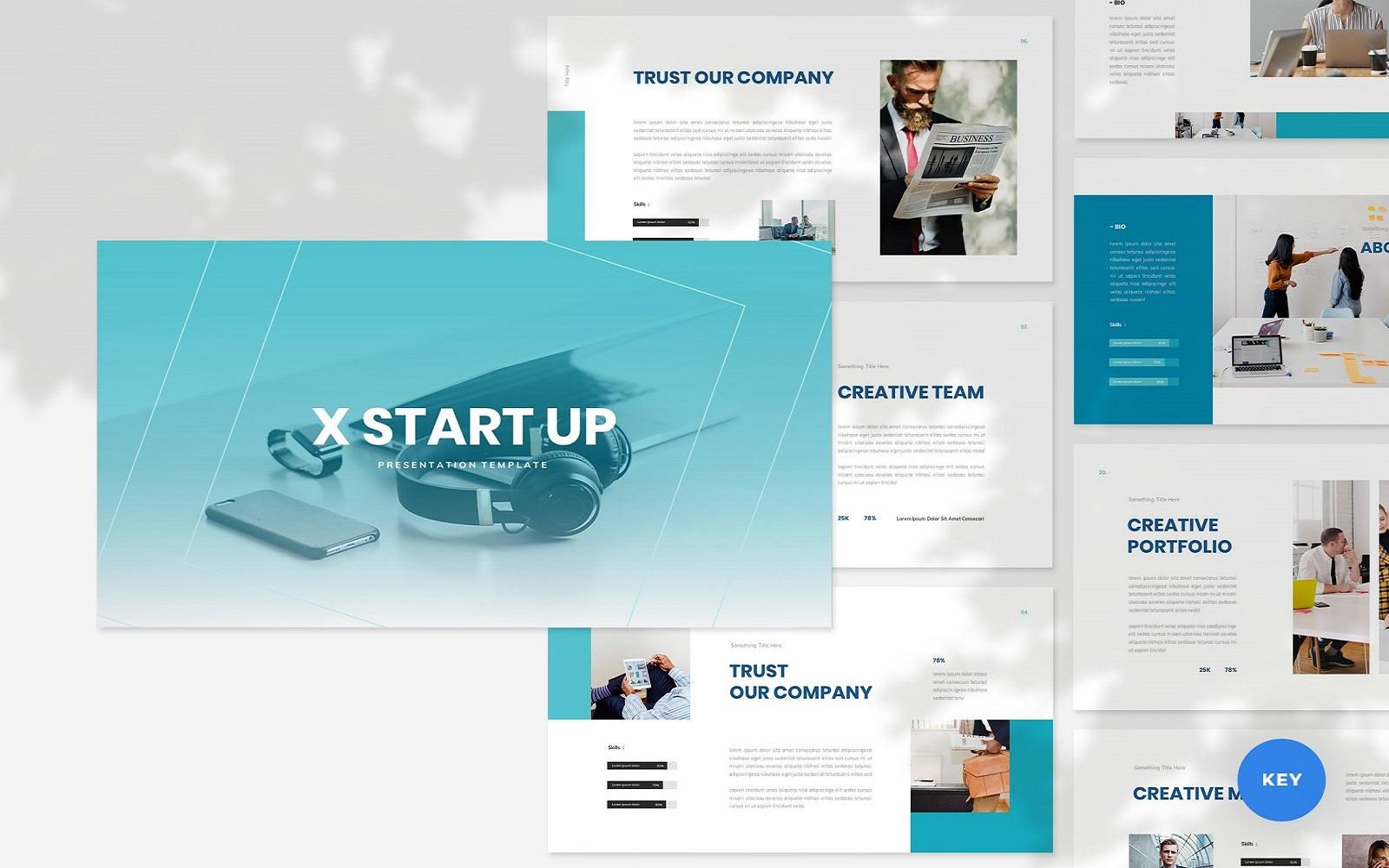 XStartUp - Startup Keynote Template