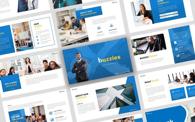 Buzzeies - Business presentation PowerPoint Template