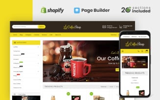 Drinks & Beverages Store Shopify Theme