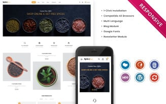 Spicefair - The Grocery Store Responsive WooCommerce Theme