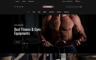 Gymwav - Gym and Fitness WooCommerce Theme