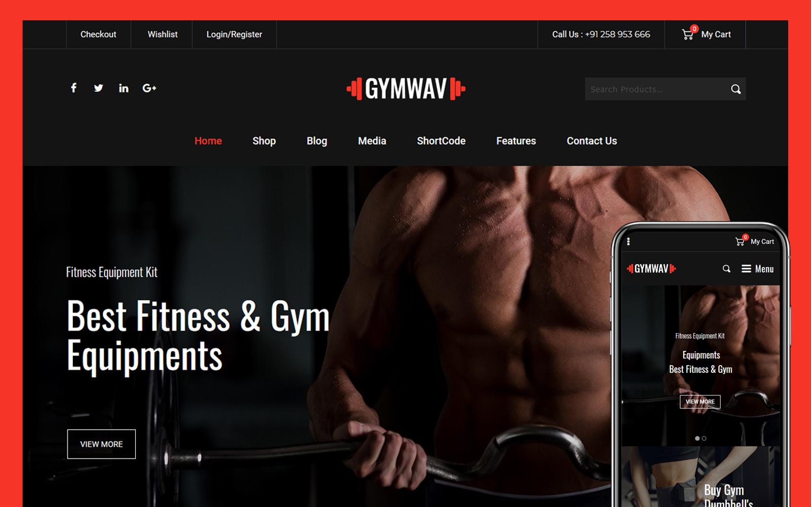 Gymwav - Multipurpose WooCommerce Theme