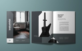 Industrial Magazine Template