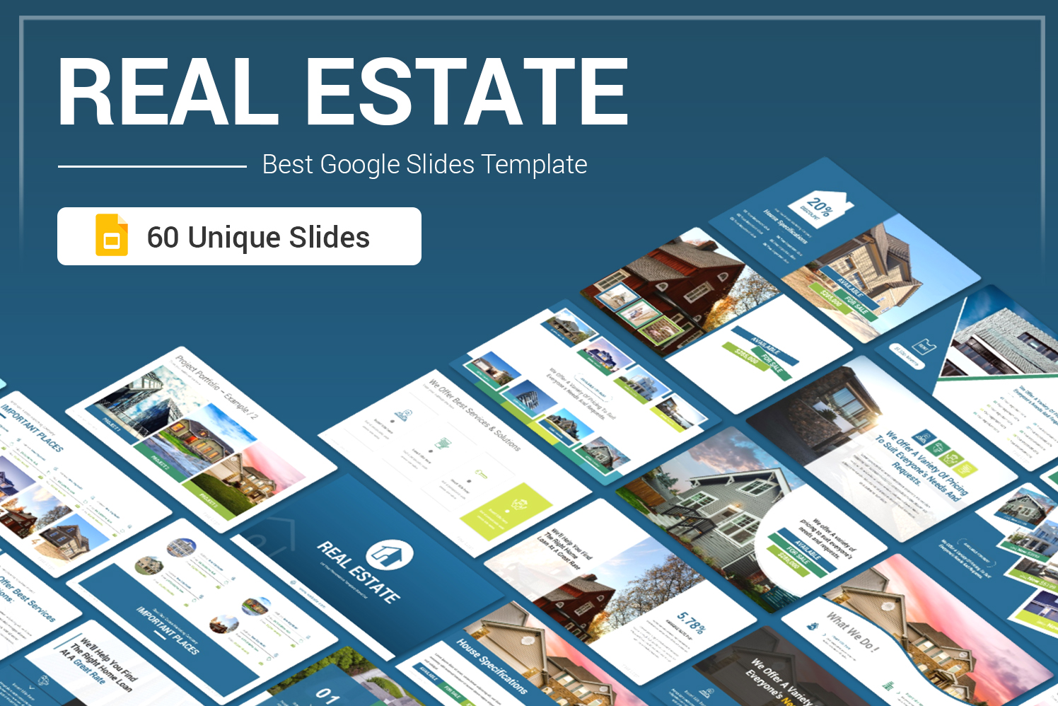 Premium Real Estate Google Slides #104310
