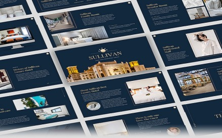 Sullivan - Luxury Hotel PowerPoint Template