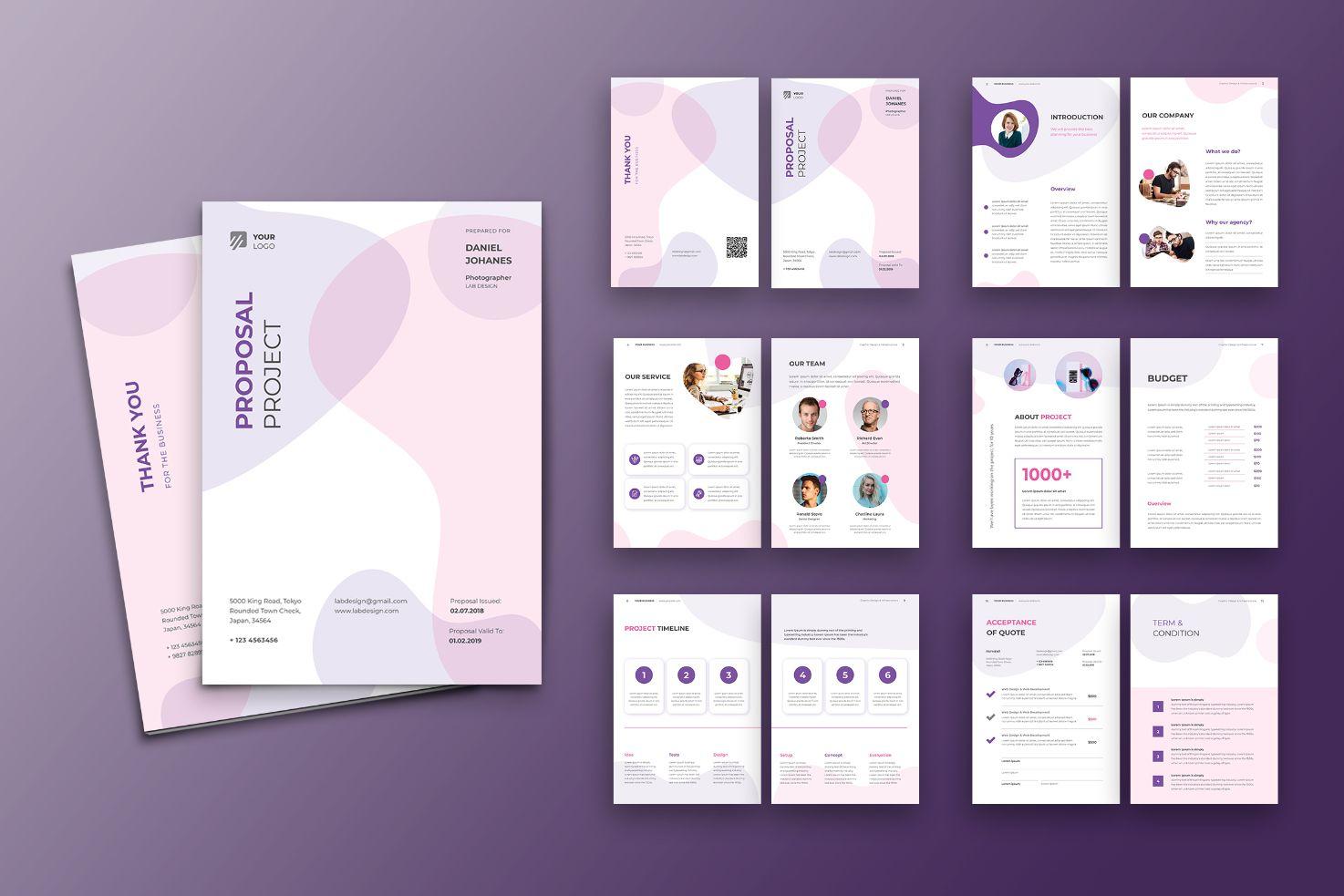 Proposal Digital Concept Corporate Identity Template