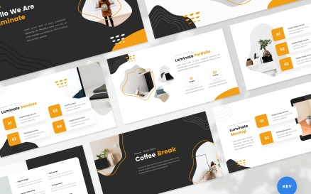 Luminate - Creative - Keynote template Keynote Template
