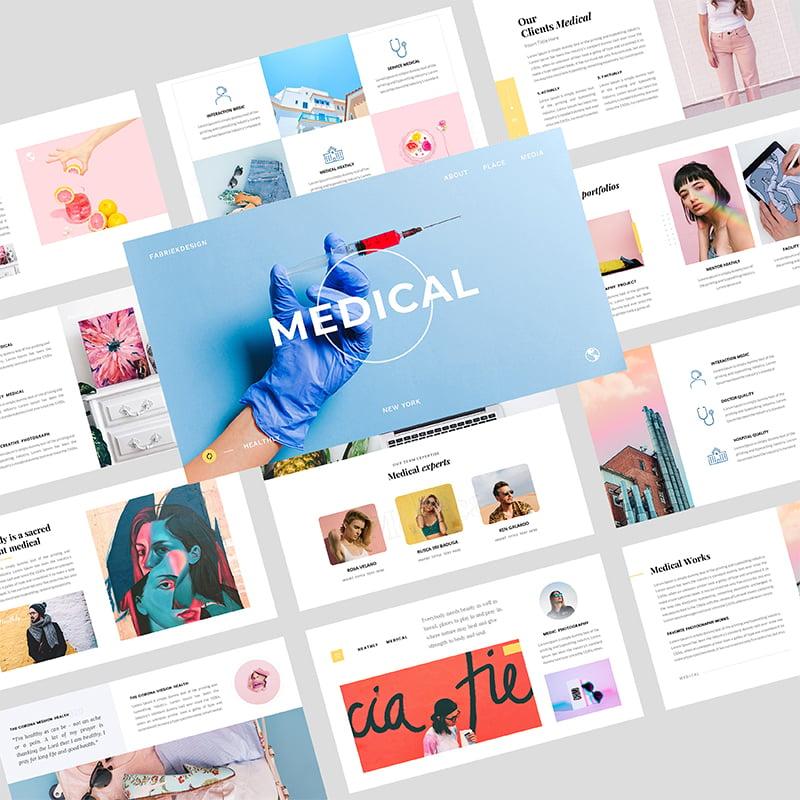 Medical Heath Creative Business Google Slides