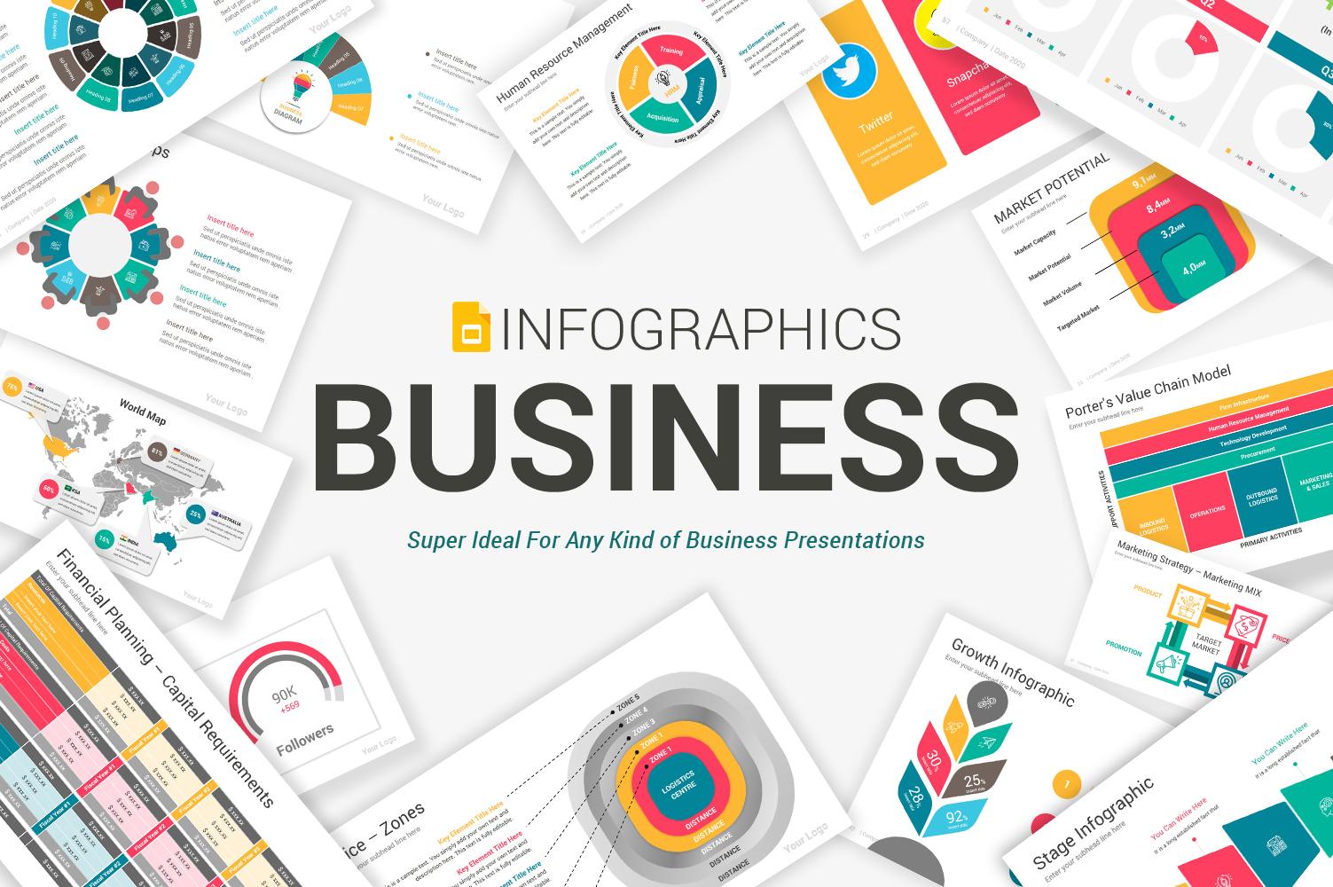 Premium Business Infographics Google Slides #104848