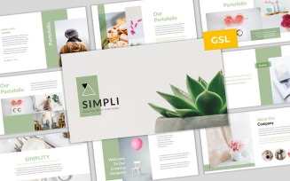 Simpli - Simple & Modern Business Google Slides Template