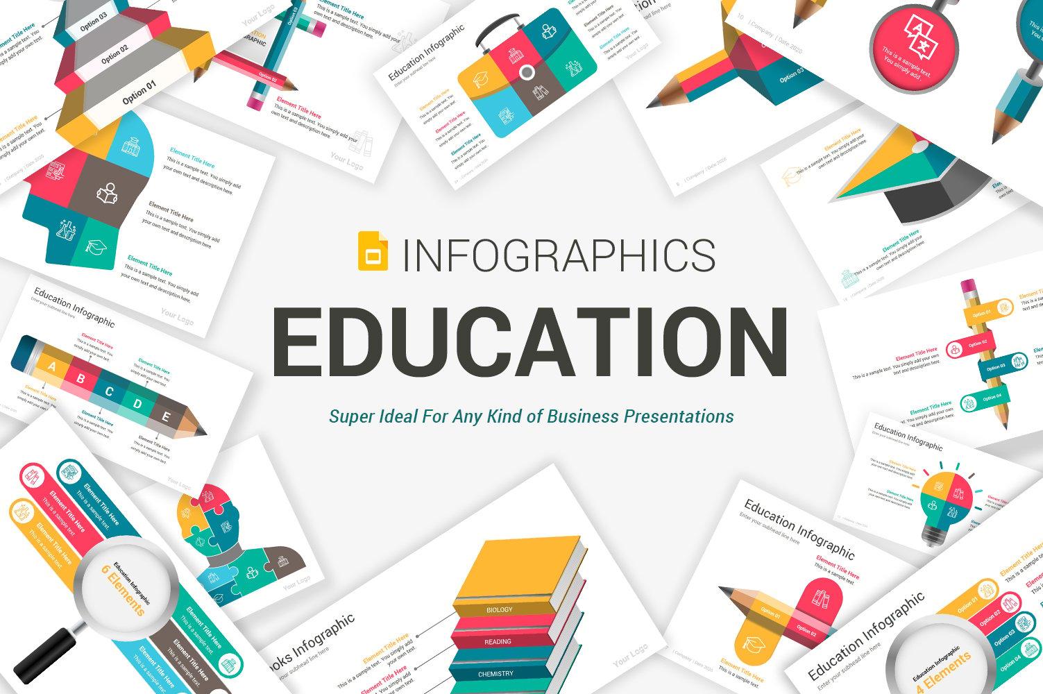 Education Infographics Google Slides