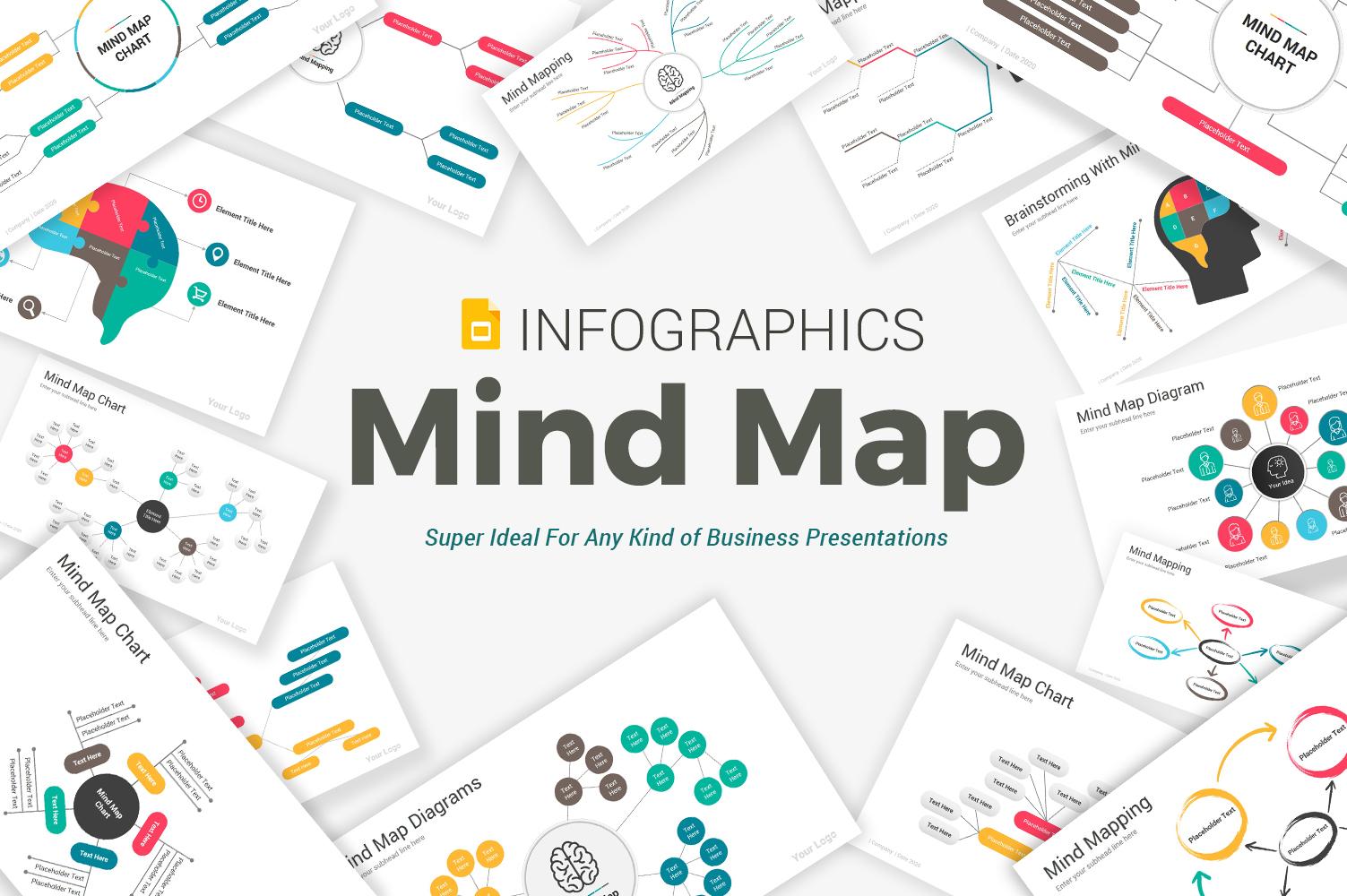 Mind Map Diagrams Pack Google Slides