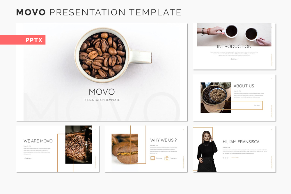 Movo Presentation PowerPoint Template