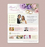 Flash: Personal Pages Flash Site Wedding