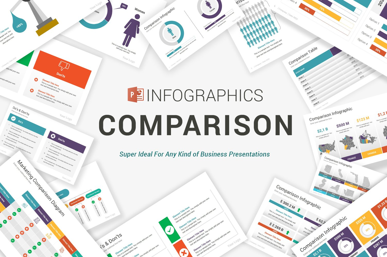 Comparison Infographics PowerPoint Template