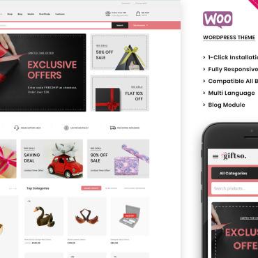 Купить  пофессиональные WooCommerce шаблоны. Купить шаблон #105208 и создать сайт.