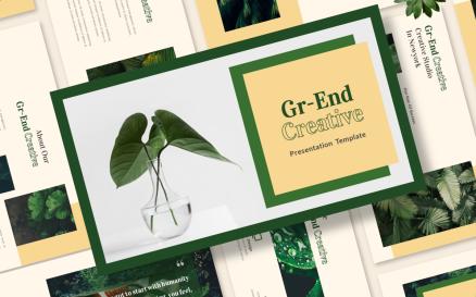 Gr-end Creative Google Slide