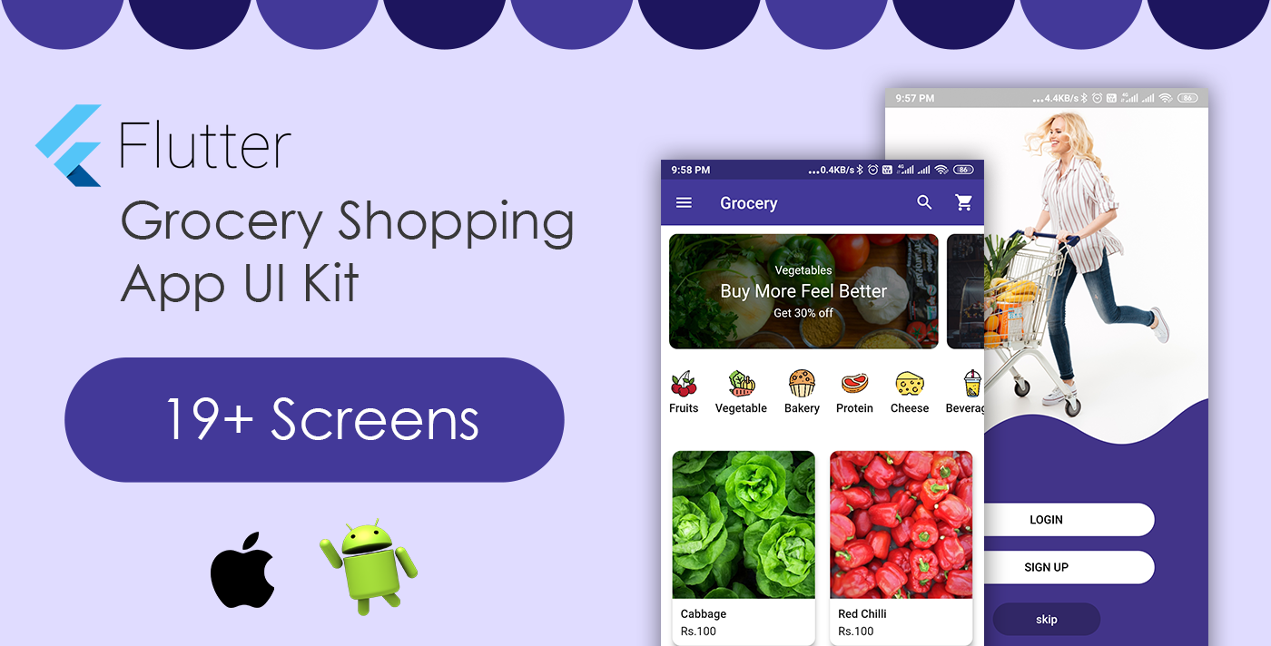 Grocery App Template