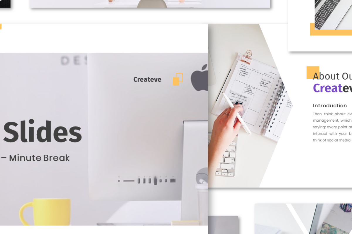 Createve Business PowerPoint Template