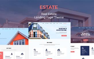 Estate - Responsive Real Estate Landing Page Template