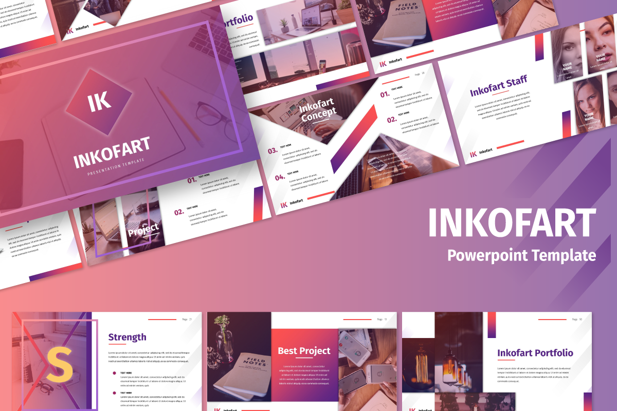 Inkofart - Multi Purpose PowerPoint Template