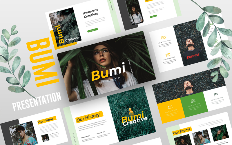 Bumi Creative PowerPoint Template
