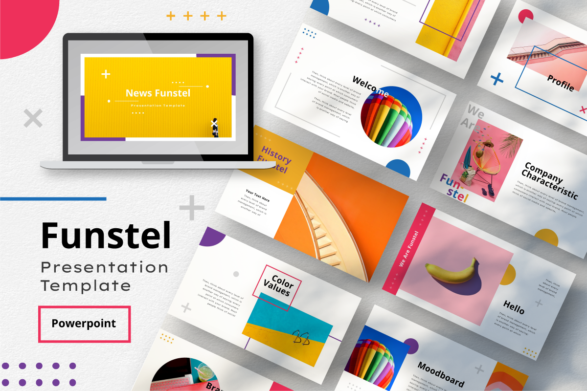 Funstel PowerPoint Template