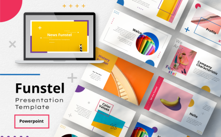 Funstel PowerPoint Template