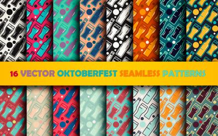 Oktoberfest Patterns Set