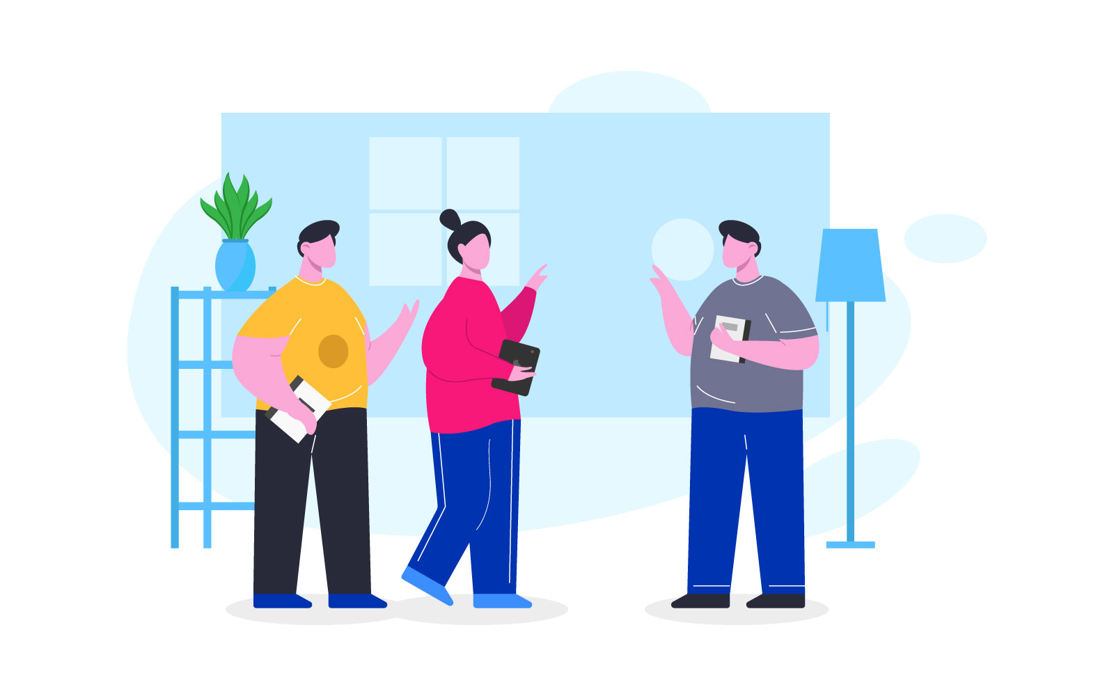 People discussion Illustration