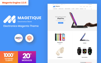 Magetique - Electronics Store Magento Theme