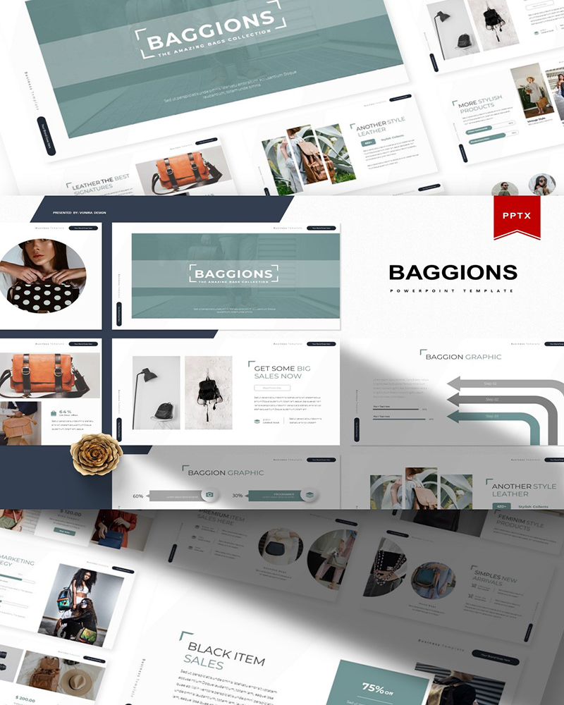Baggions | PowerPoint Template