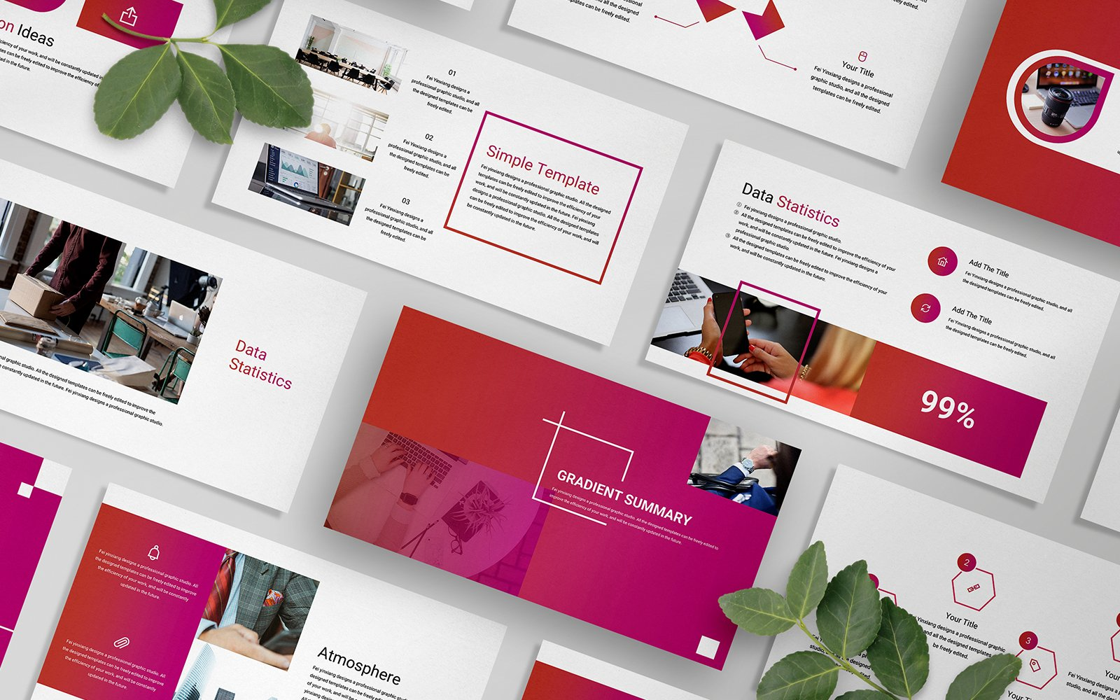 Gradient Business PowerPoint Template