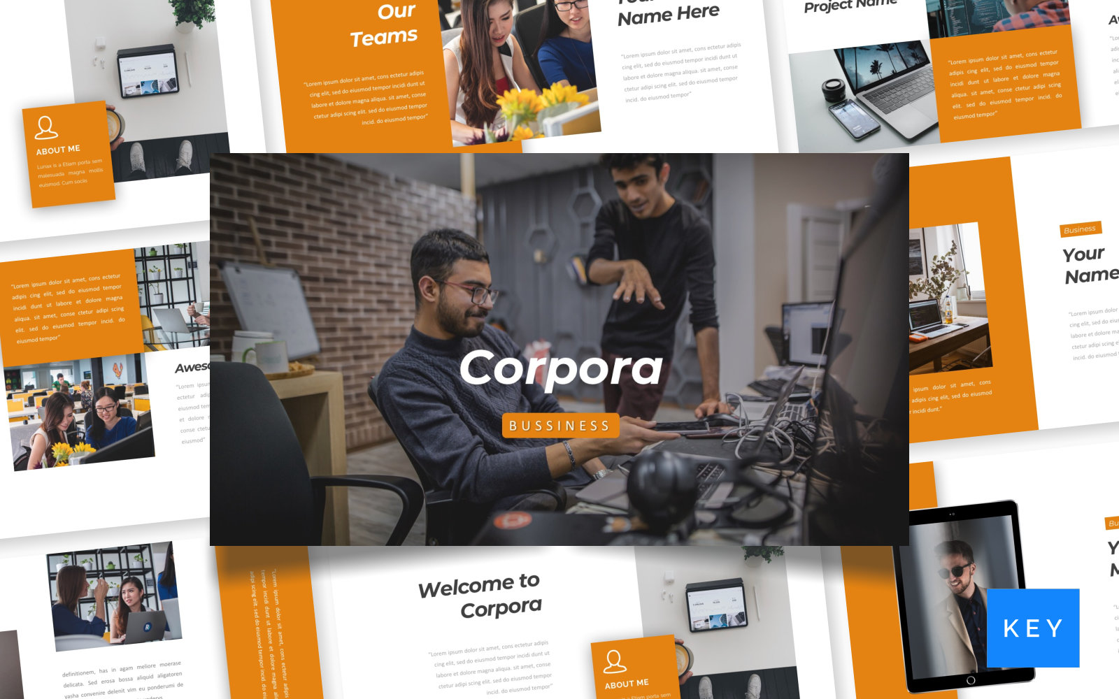 Corpora - Bussiness Keynote Template