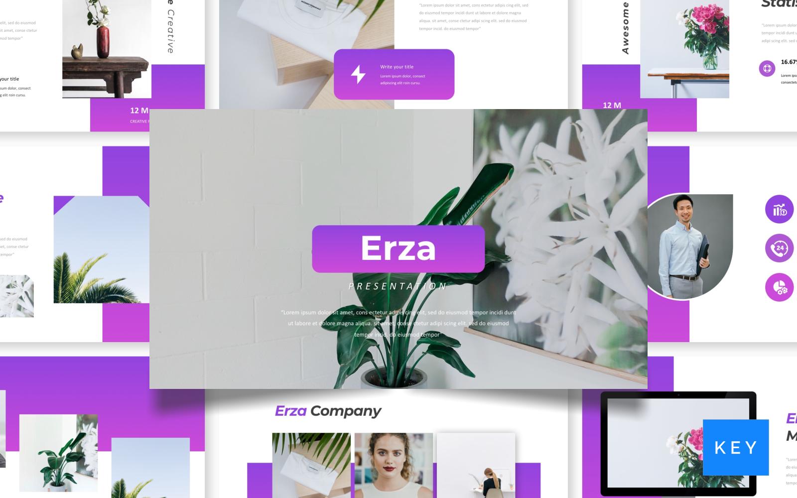 Erza - Creative Presentation Keynote Template