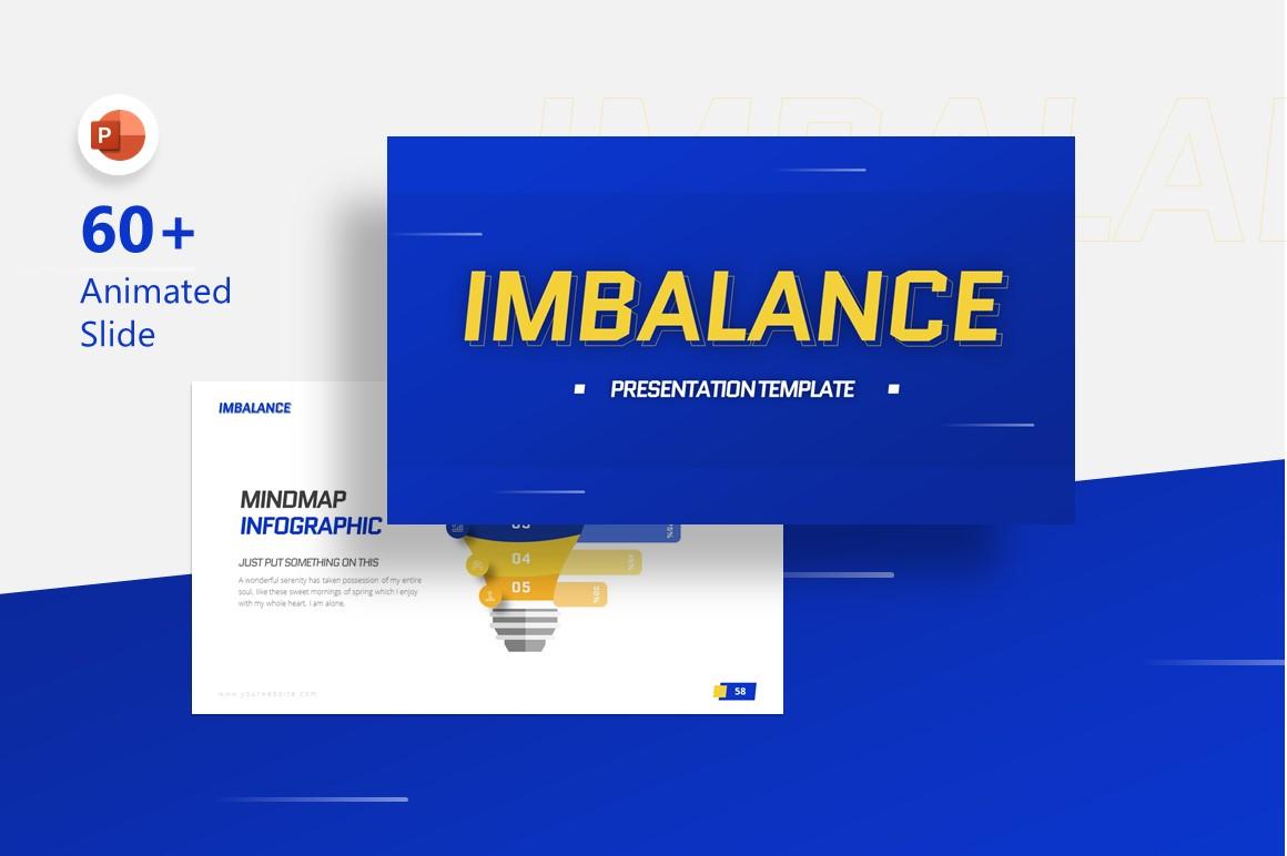 Imbalance - Game Modern Creative Keynote Template