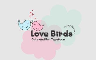 Love Bird - Сute Font Typeface