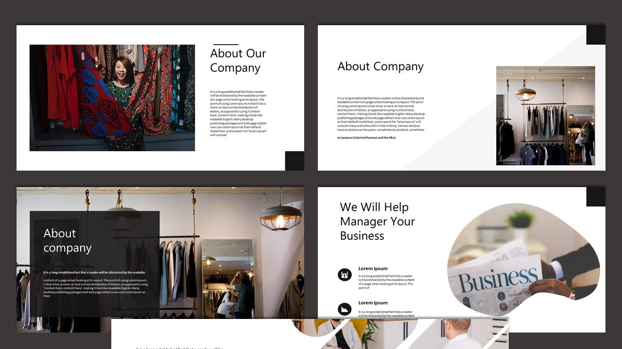 Amaranda Creative Business Google Slides