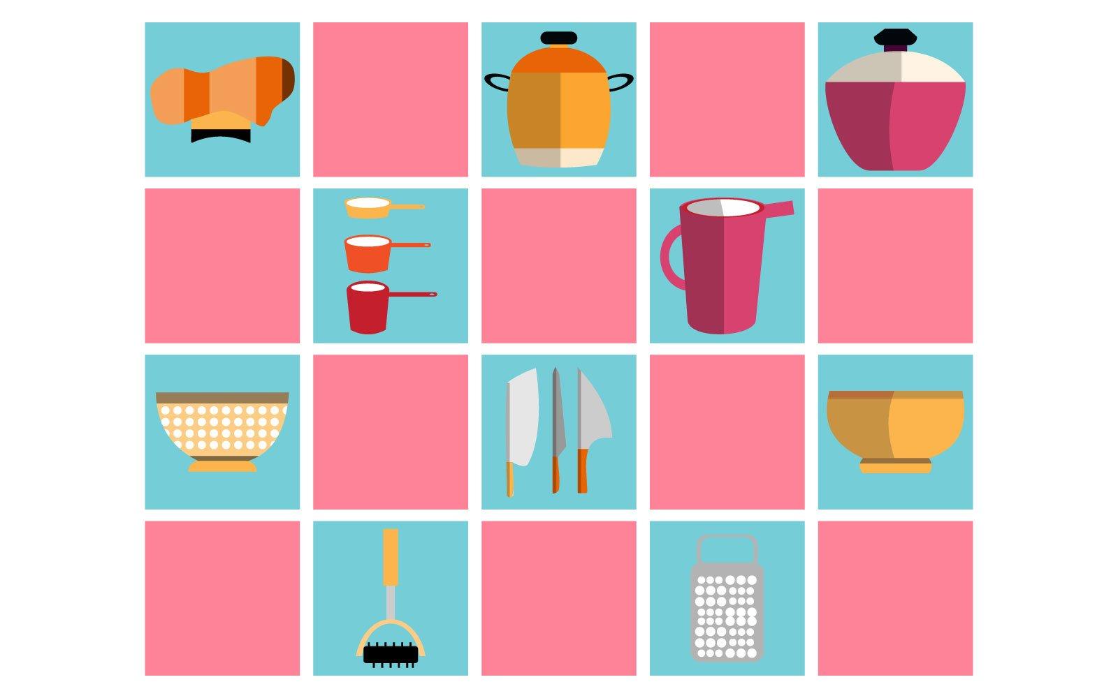 kitchen wallpaper Illustration
