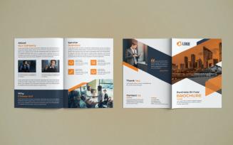 Business Bi Fold Brochure Design
