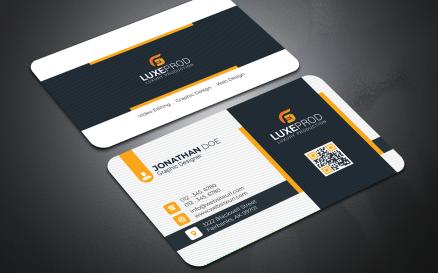 Semple Business Card - Corporate Identity Template