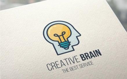 Creative Brain Logo Template